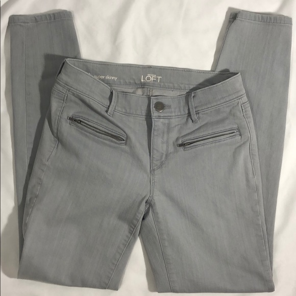 Ann Taylor Denim - Ann Taylor Loft Women's Super Skinny Jeans